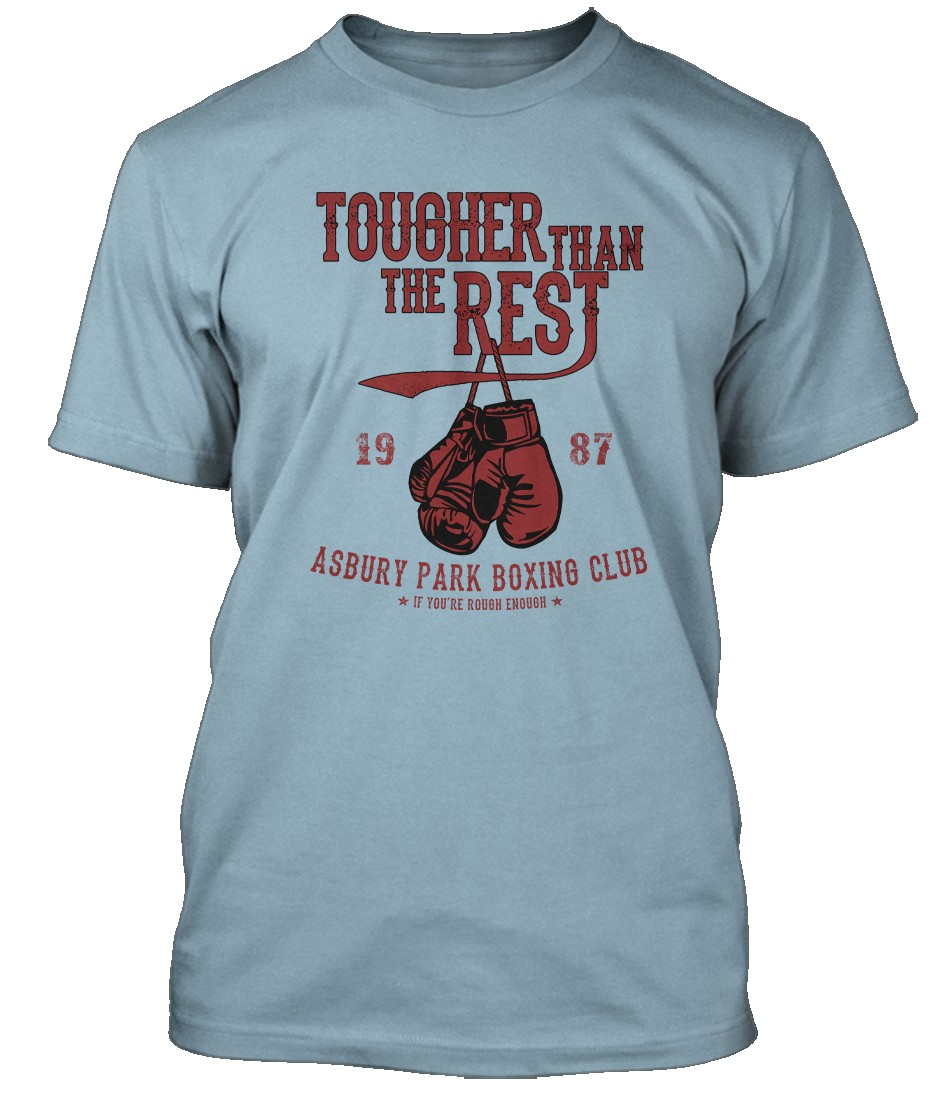 BRUCE-SPRINGSTEEN-inspired-TOUGHER-THAN-THE-REST-Hommes-T-Shirt
