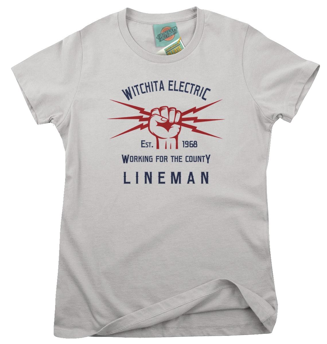 Glen-Campbell-Wichita-Lineman-inspired-Femmes-T-Shirt