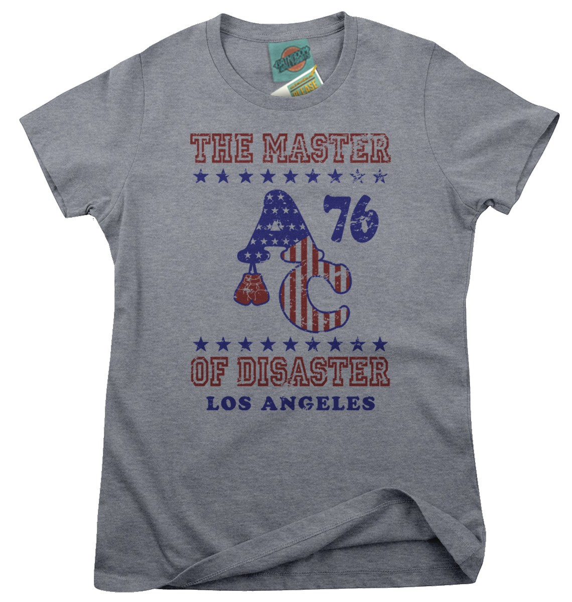 ROCKY-Apollo-Creed-inspired-MASTER-OF-DISASTER-Femmes-T-Shirt