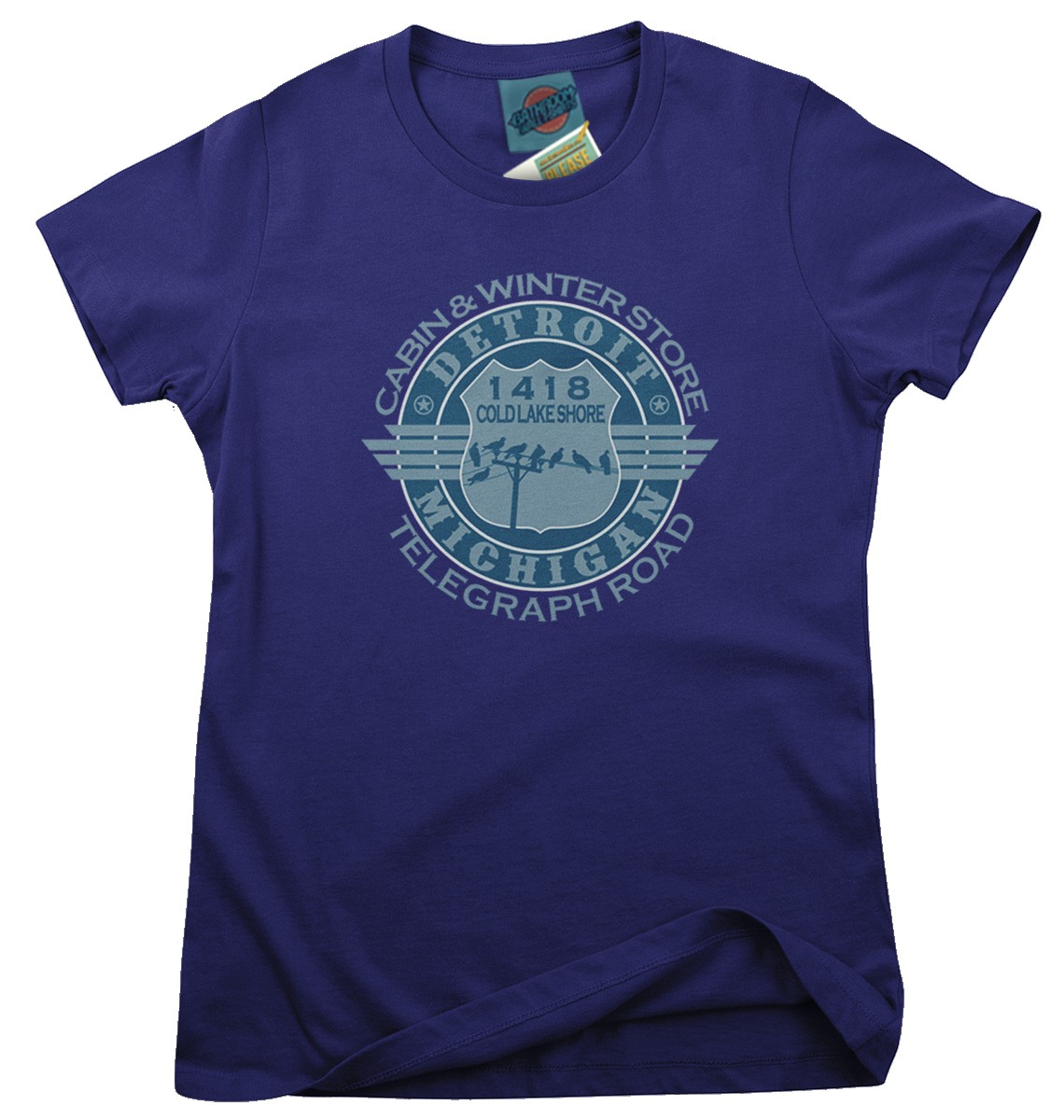 Dire-Straits-Telegraph-Road-inspired-Femmes-T-Shirt