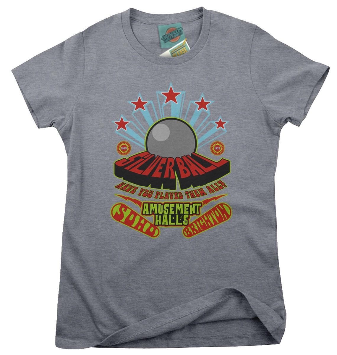 Who-inspired-Pinball-Wizard-Silver-Ball-Amusement-Hall-Femmes-T-Shirt