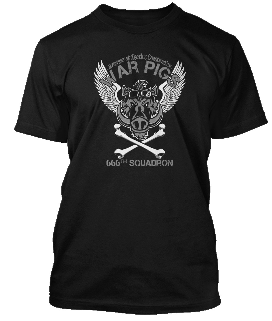 Black-Sabbath-War-Pigs-666th-Battalion-inspired-Hommes-T-Shirt