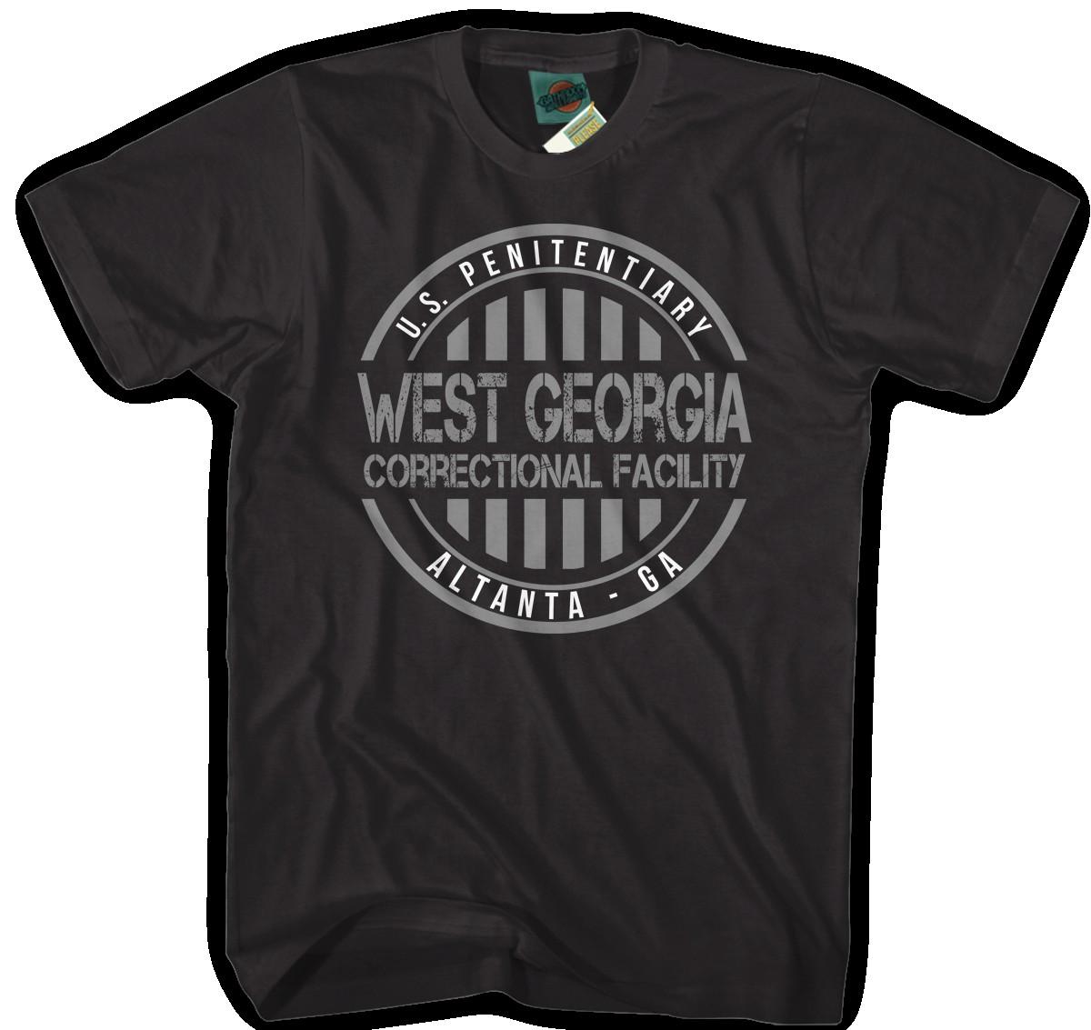 WALKING-DEAD-SEASON-3-INSPIRED-WEST-GEORGIA-PRISON-Hommes-T-Shirt