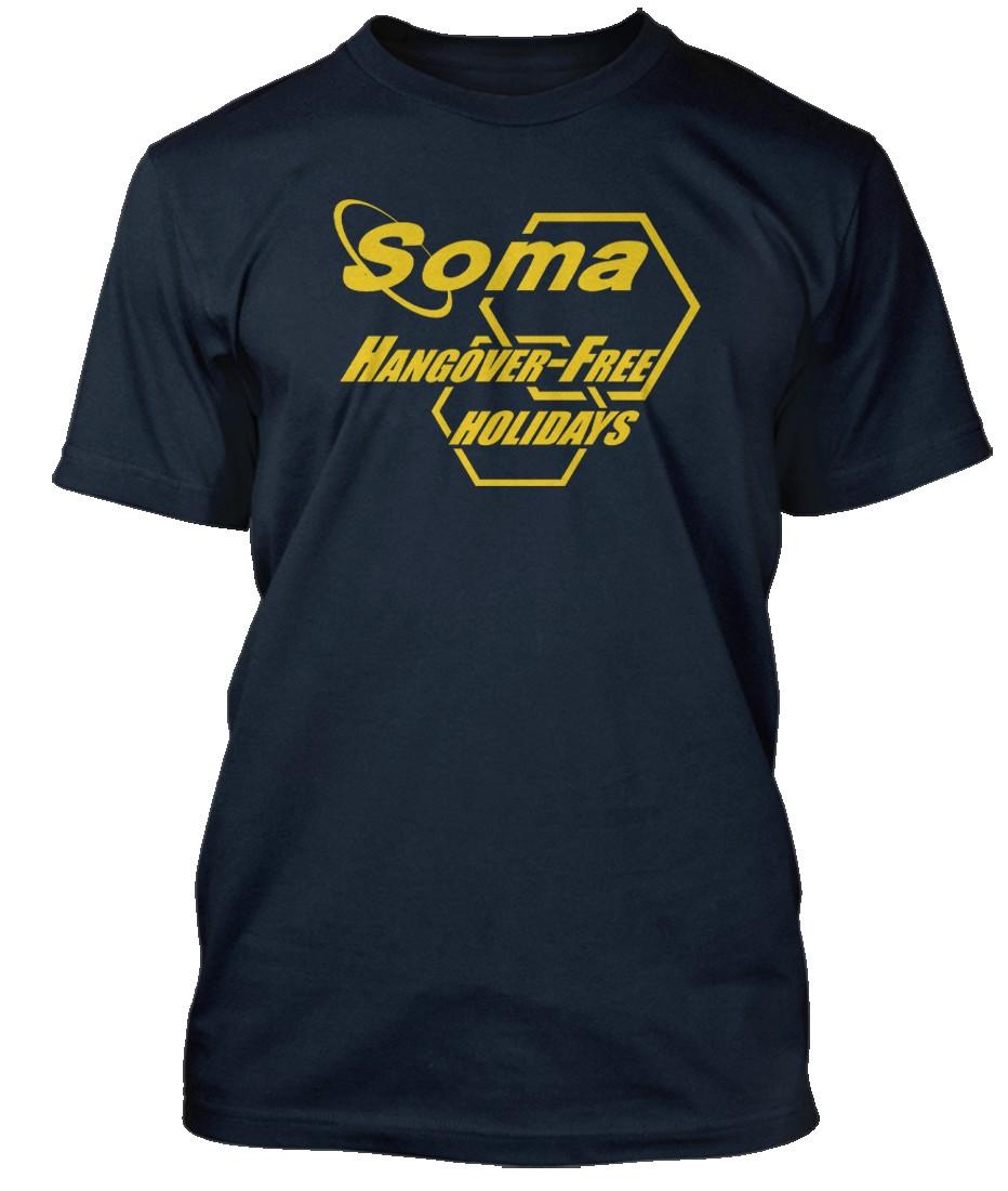 BRAVE-NEW-WORLD-INSPIRED-ALDOUS-HUXLEY-Hommes-T-Shirt