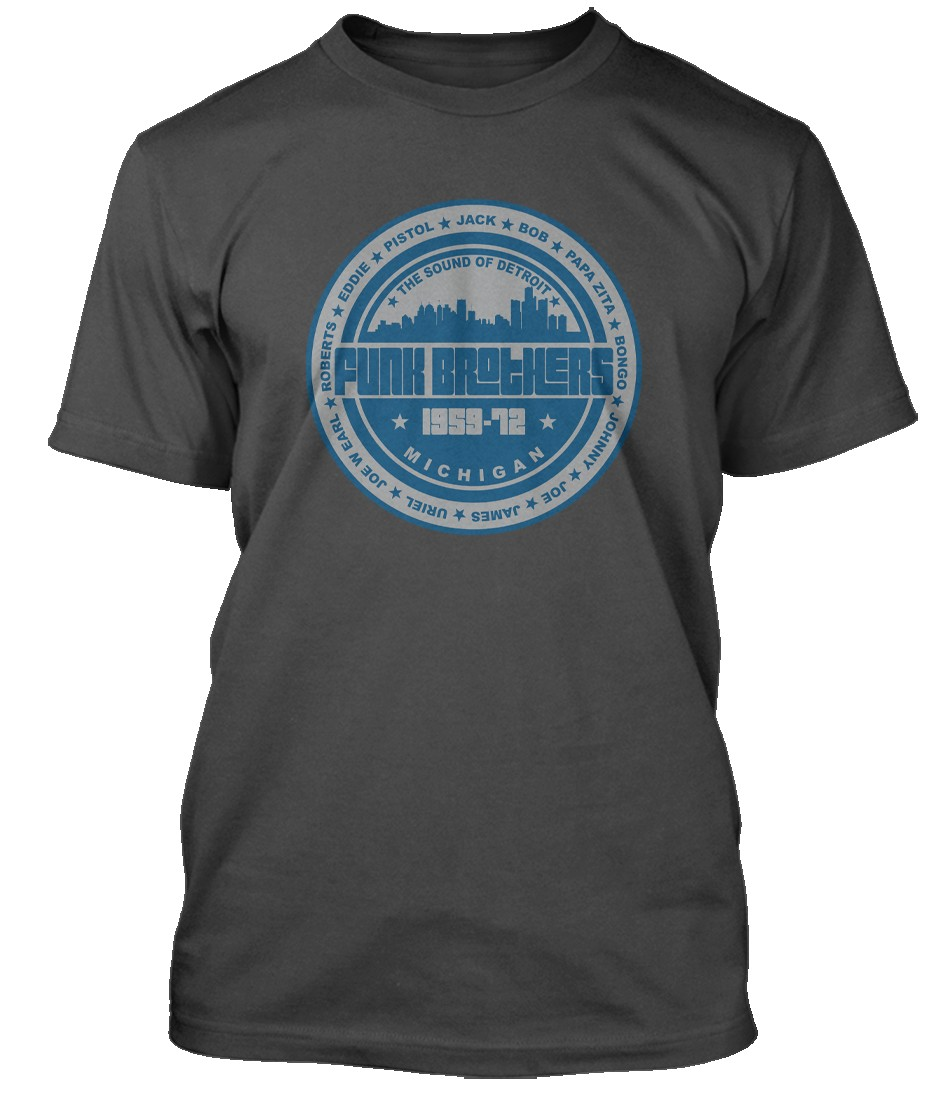 MOTOWN-FUNK-BROTHERS-Northern-Soul-inspired-Hommes-T-Shirt