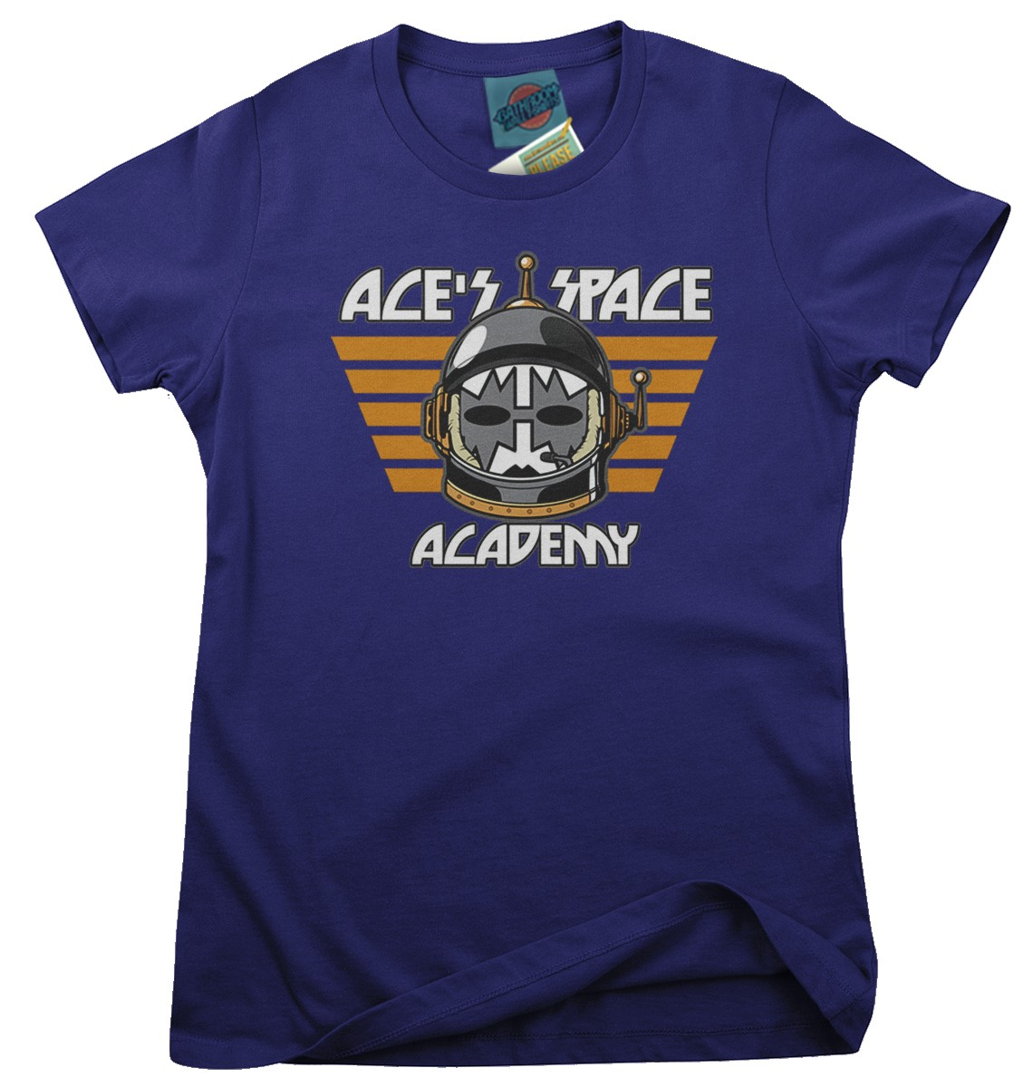 Ace-Frehley-Kiss-Ace-039-s-Space-Academy-inspired-Femmes-T-Shirt