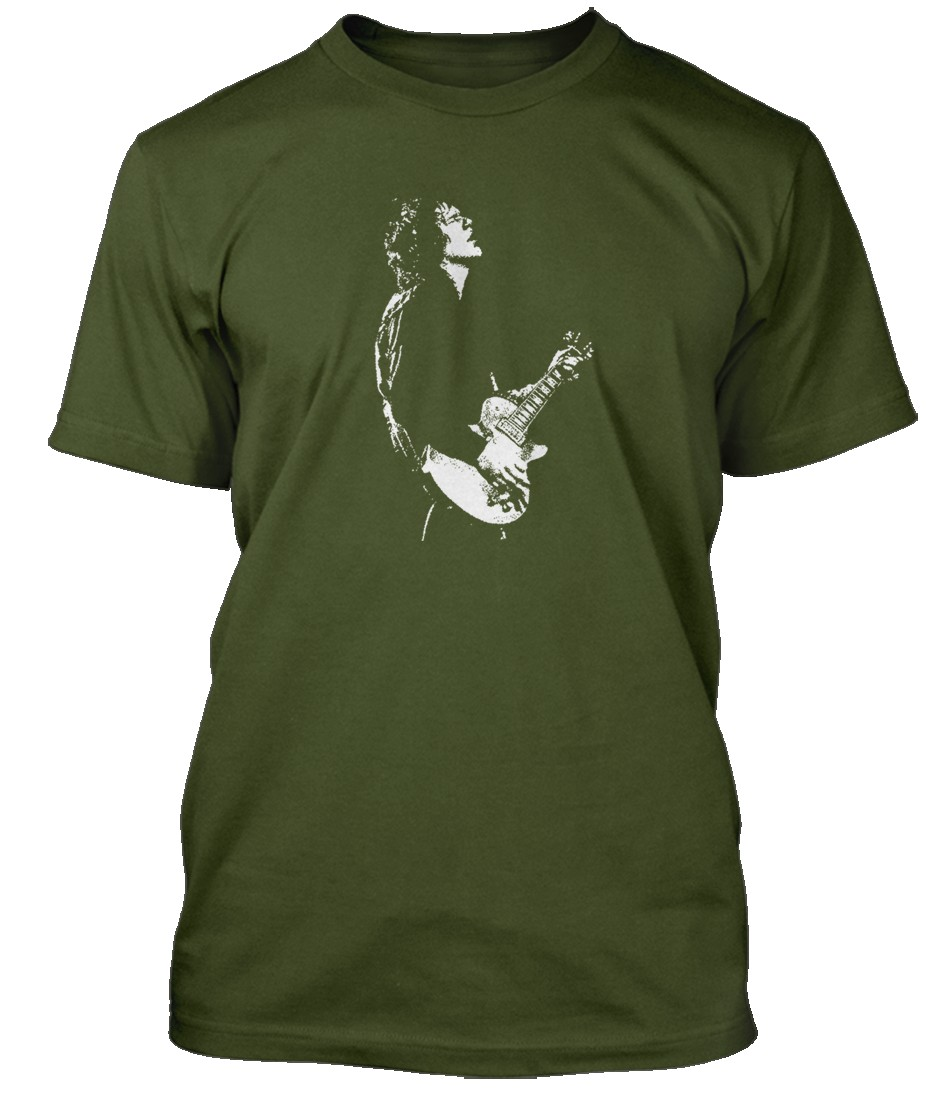 Gary-Moore-inspired-Hommes-T-Shirt