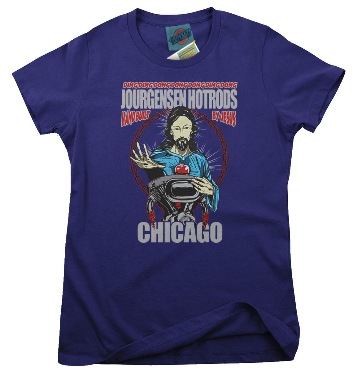 MINISTRY-inspired-JOURGENSEN-HOTRODS-Femmes-T-Shirt