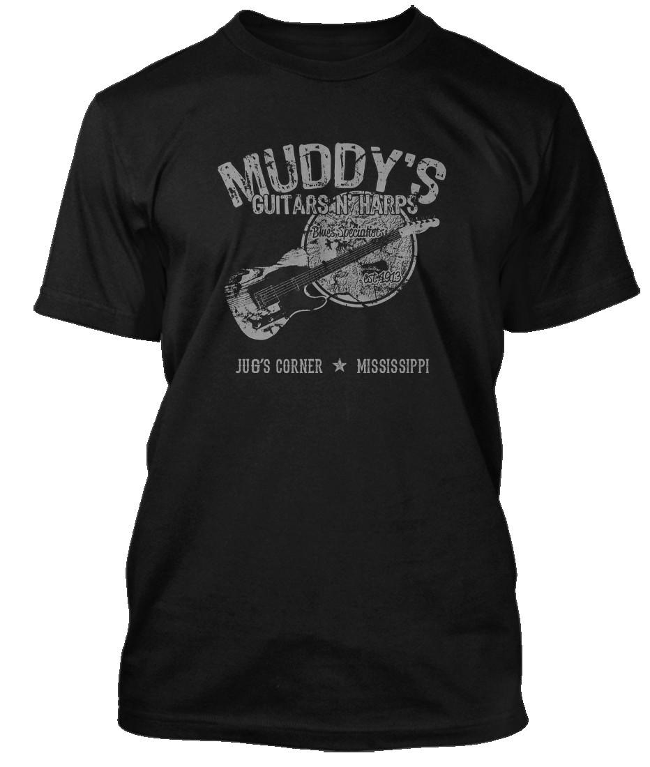 """Muddy Waters /""""Electric Blues vintage/"""" T-shirt-NOUVEAU /& OFFICIEL!"""